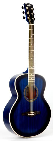 Eko NXT 018 Folk Guitar - Blue Sunburst