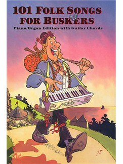 101 Folk Songs for Buskers Spiral-bound
