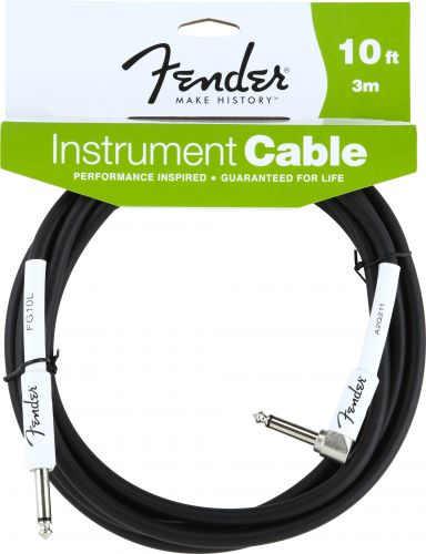 Fender Instrument Cable 10ft/3M (Angled)