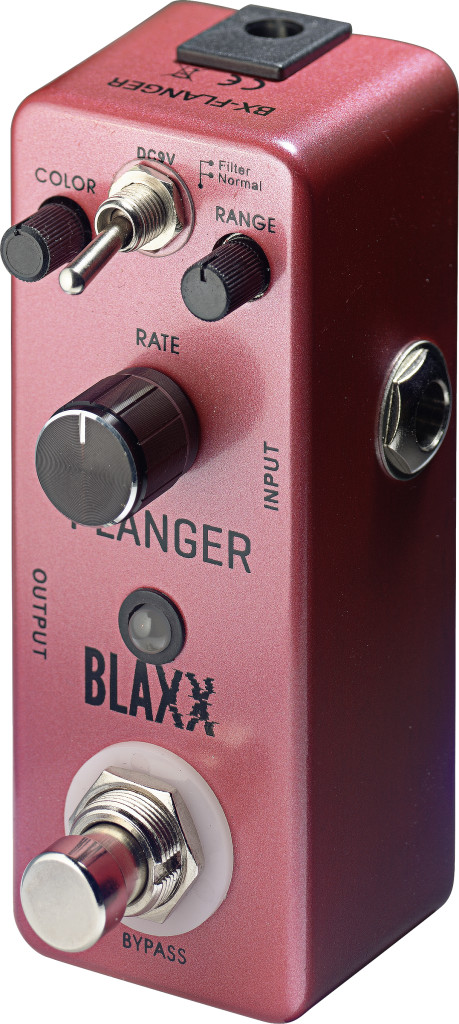 BLAXX 2-mode Flanger pedal for electric guitar