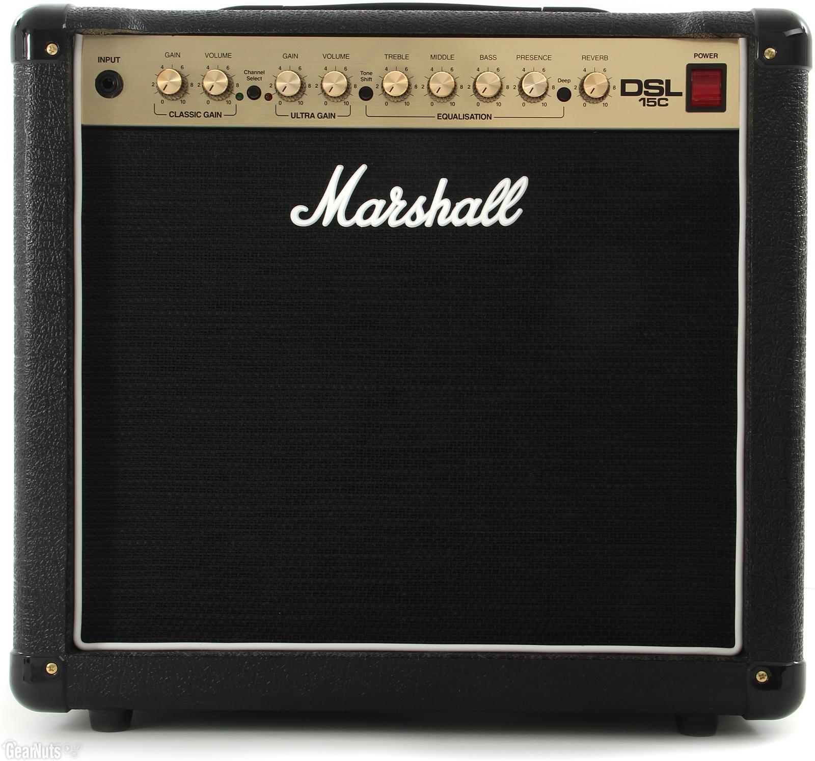 Marshall DSL15C All-Valve 15 watt Combo