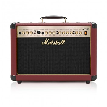 Marshall AS50D 50 Watt Acoustic Guitar Amp - SPECIAL EDITION - OXBLOOD