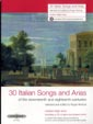 30 Italian Songs and Arias of 17-18 centuries Med-high voice with CD Roger Nichols