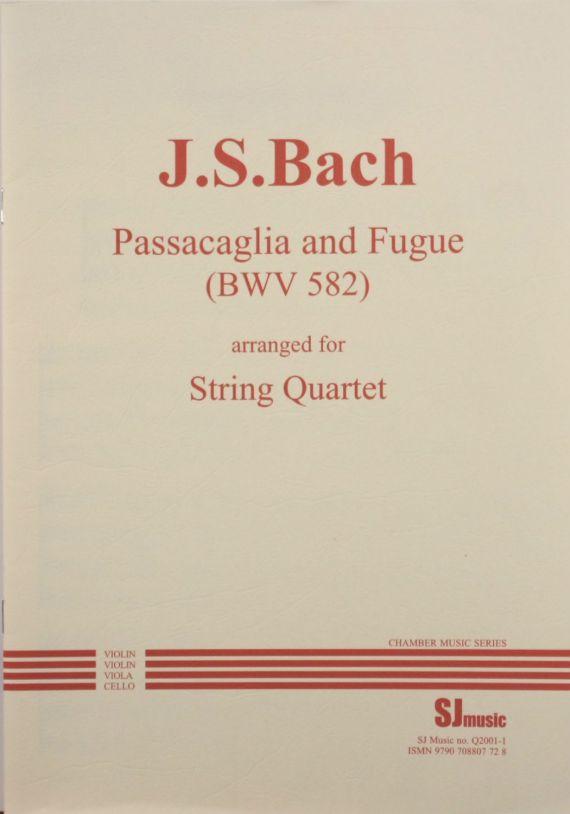 Bach J.S. Passacaglia and Fugue BWV582 arr. String quartet