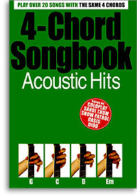 4-chord Songbook Acoustic Hits guitar mlc