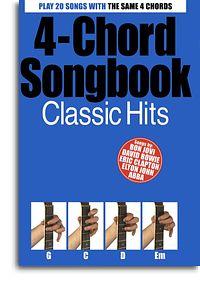 4 Chord Songbook Classic Hits guitar