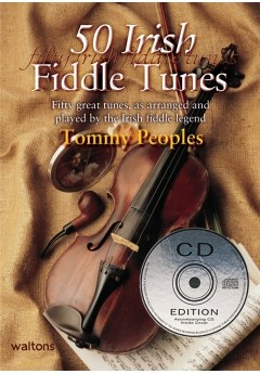 50 Irish Fiddle Tunes Tommy Peoples violin, book & CD
