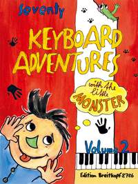 70 Keyboard Adventures with the little monster vol 2