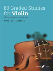 80 Graded Studies for Violin Book 1 grades 1-5 O'Leary