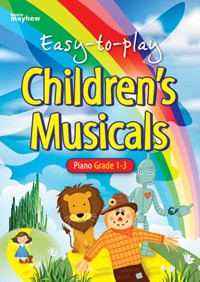 Childrens Musicals easy to play piano