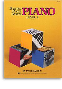 Bastien Piano Basics - Piano Level 4