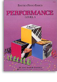 Bastien Piano Basics -  Performance Level 1