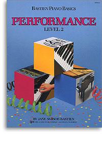Bastien Piano Basics -  Performance Level 2