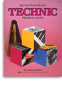 Bastien Piano Basics - Technic Primer Level