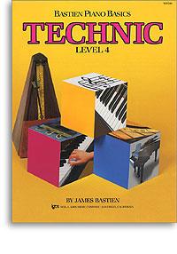 Bastien Piano Basics - Technic Level 4