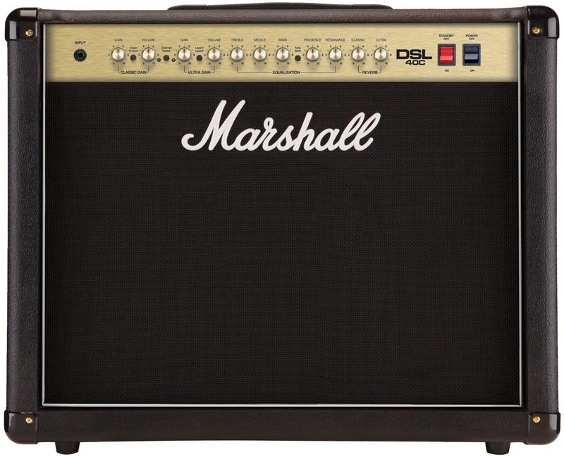 Marshall DSL Series DSL40C - All Valve 40 Watt Combo
