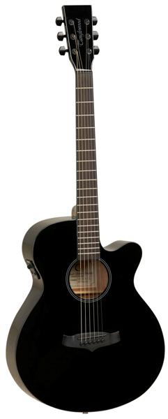 Tanglewood Evolution TSF CE BK LTD Super Folk Electro - Black