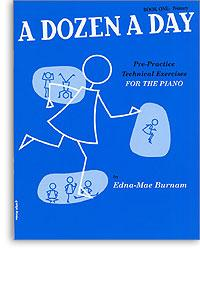 Dozen A Day book 1 primary piano