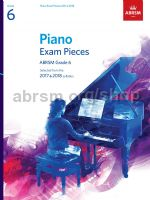 AB Piano Exam 2017 - 2018 grade 6 book only