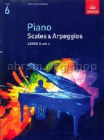 AB Piano Scales and Arpeggios 2009 grade 6
