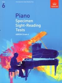 AB Piano Specimen Sight-reading Tests new 2009 grade 6