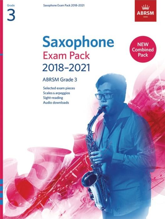 AB Saxophone Exam Pack 2018-2021 Grade 3