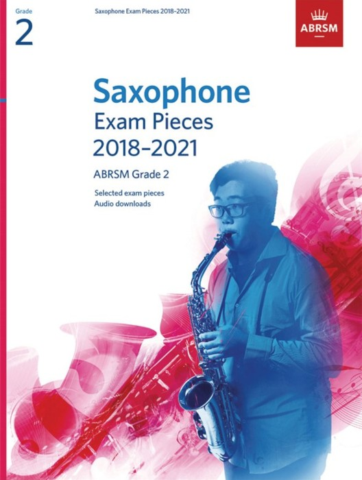 AB Saxophone Exam Pieces 2018-2021 Grade 2