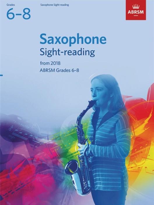 AB Saxophone Sight Reading 2018 Grades 6-8