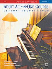 Alfred Basic Adult piano Course All-in-One Level 2 Palmer, Manus, Lethco