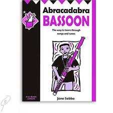 Abracadabra Bassoon Jane Sebba