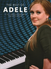 Adele - Best of for Easy Piano (original edition)