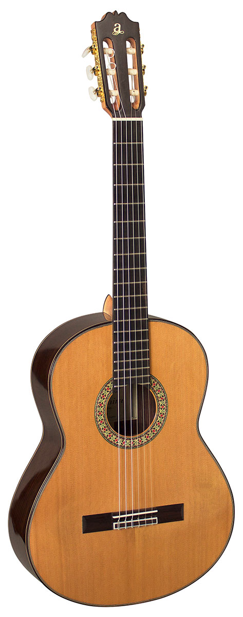 Admira A15 - Solid Cedar top Classical Guitar - Free Hard Case