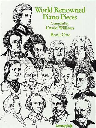 World Renowned Piano Pieces Book 1 Willison Pre-owned