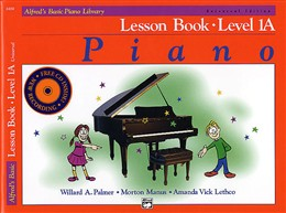 Alfred Basic Piano Lesson 1A bk/cd
