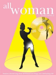 All Woman Love Songs book & CD 14 songs pvg