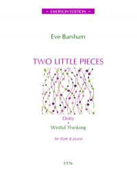 Barsham Two Little Pieces Oboe and Piano