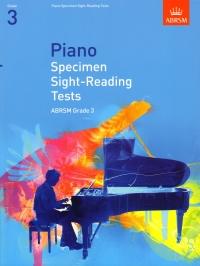 AB Piano Specimen Sight Reading Tests grade 3