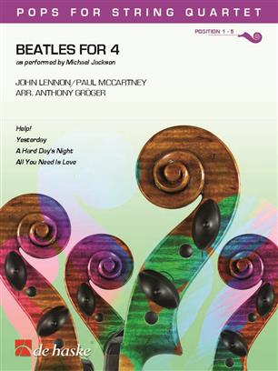 Beatles for 4 String Quartet Positions 1-5