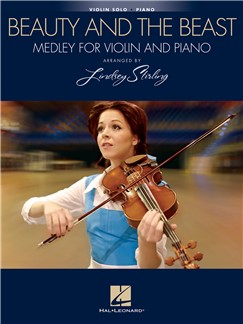 Beauty and the Beast Medley for Violin and Piano arr Stirling