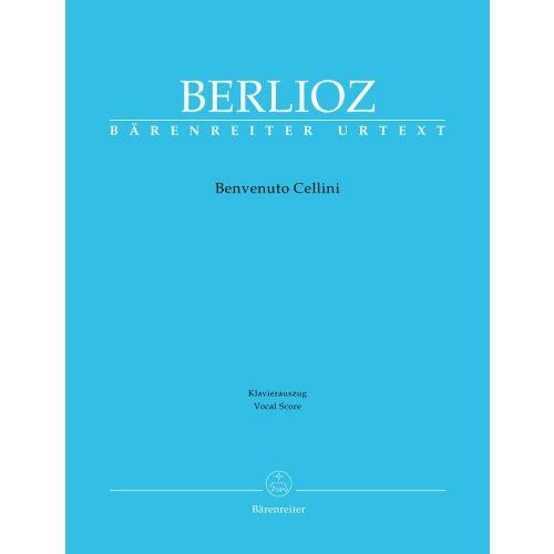 Berlioz Benvenuto Cellini - Opera Vocal Score (Baerenreiter)