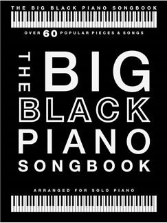 Big Black Piano Songbook Piano Solo - over 60 pieces