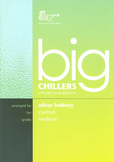 Big Chillers Clarinet & Piano book