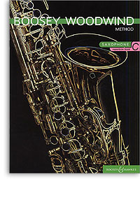 Boosey woodwind Method Saxophone bk2 bk-cd