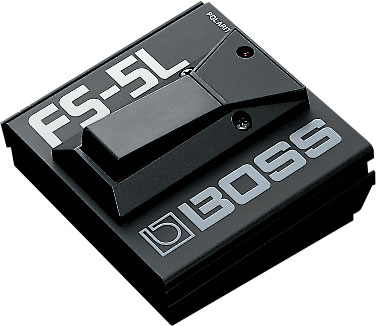 BOSS FS-5L Latching Foot Switch with LED indicator