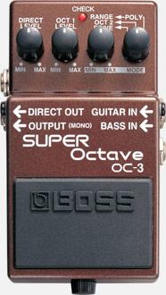 Boss OC3 Octaver Pedal