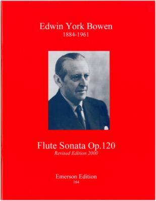 Bowen, York - flute Sonata op.120 Revised 2000