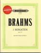 Brahms 2 Sonatas op.120 for Viola or Clarinet with CD