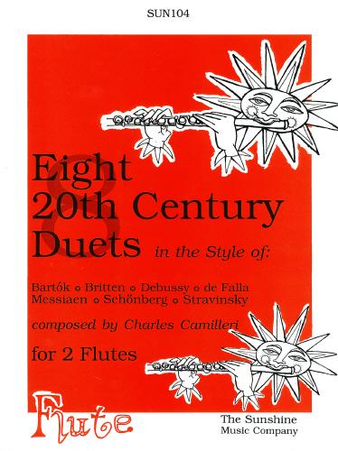 Camilleri, Charles -Eight 20th Century Flute Duets