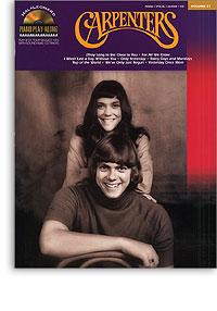 Carpenters: Hal Leonard Piano Play-along vol.31