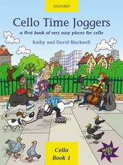 Cello Time Joggers Blackwell Book & CD
